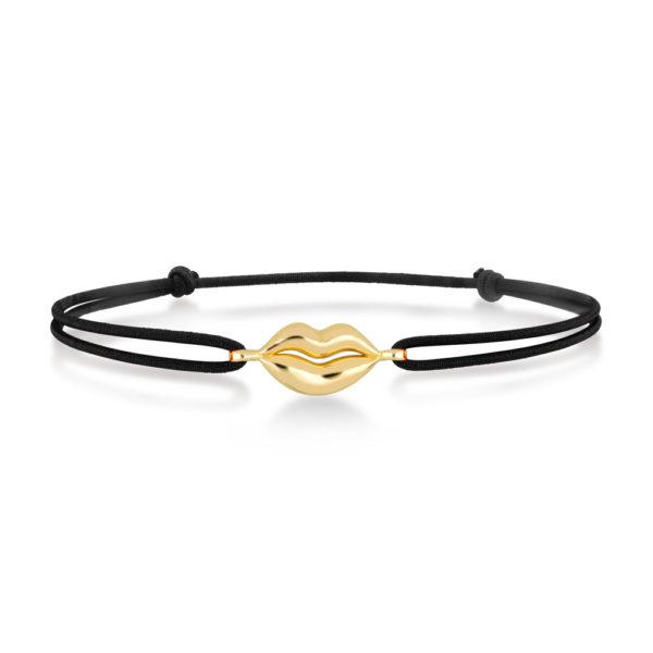 Kiss bracelet en or jaune 18 carats